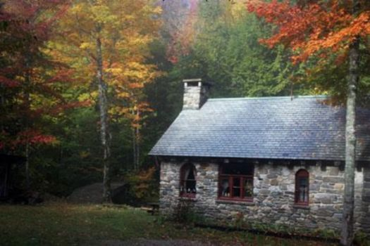 Stone Cottage In The Woods Pieces