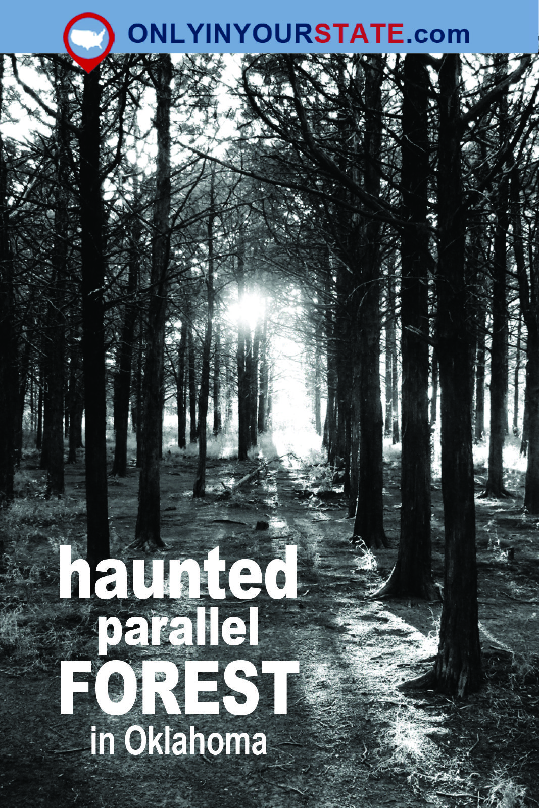 The Haunted Parallel Forest In Oklahoma Is Not For The Faint Of