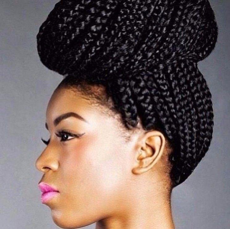 Nigeria Female Hairstyle Female Hairstyle Nigeria Female Hairstyle Hairstylefemale In 2020 Braided Hairstyles Updo Braided Hairstyles African Hair Braiding Styles