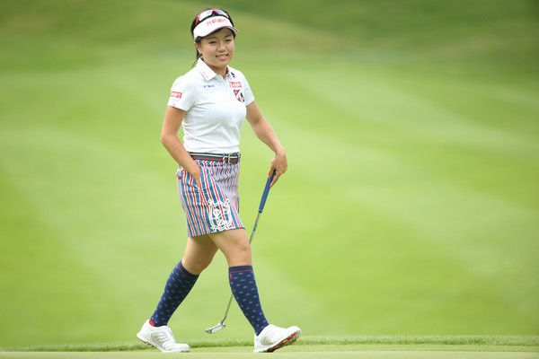 Pei-Ying Tsai Photos Photos - Pei-Ying Tsai of Taiwan smiles during the second round of the Nipponham Ladies Classics at the Ambix Hakodate Club on July 9, 2016 in Hokuto, Japan. - Nipponham Ladies Classics - Day 2