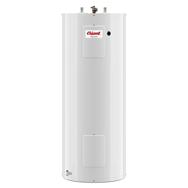 Giant Electric Water Heater Standard 60 Gallon Rona Locker Storage Cobalt Glass Safety Valve