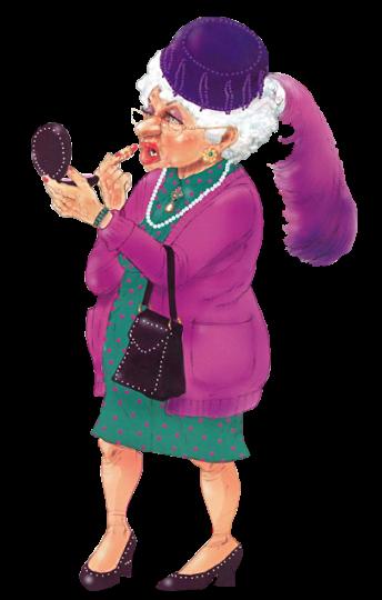 Прикольные бабушки в картинках, поздравления открытки
