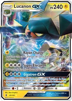photo de carte pokemon gx Lucanon GX   Carte pokemon a imprimer, Carte pokemon, Carte poker