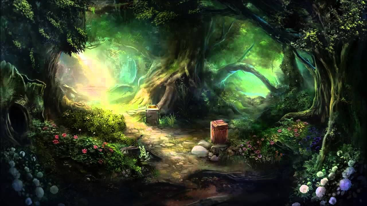 magic forest old version fantasy ambient wallpaper ...