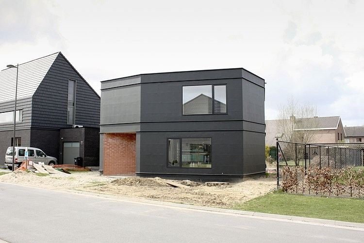 Home in Wondelgem by BLAF Architecten Modèles et plans de maison - Modeles De Maisons Modernes