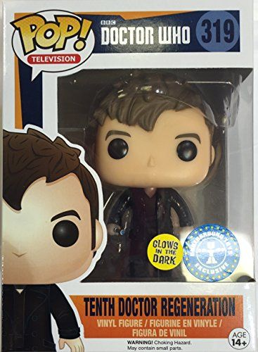 Funko Doctor Who Funko Pop Television Tenth Doctor Regeneration Exclusive Vinyl Figure Vinyl Figures Tenth Doctor Art Toy