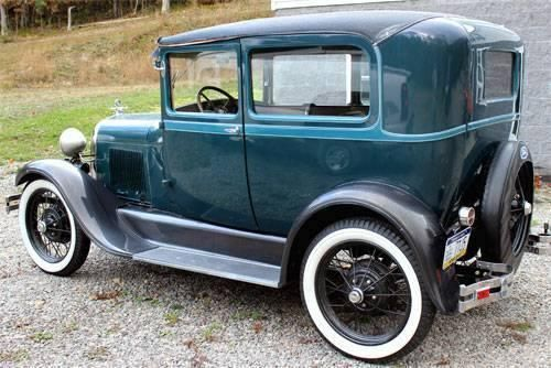 1928 Ford Model A for sale (PA) - $15,900 '28 Ford Model A Coupe Full Frame Up Restoration All Numbers Matching; All Steel 1,500 Miles, Clean title. Green & Black exterior paint Brown interior
