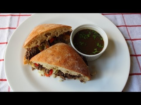 """Photo of Chicago Italian Beef Sandwich """"Stew Meat Edition"""" – Stewed I…"""