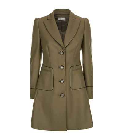 Red Valentino Fitted Military Coat available to buy at Harrods. Shop designer women's clothing online & earn reward points.