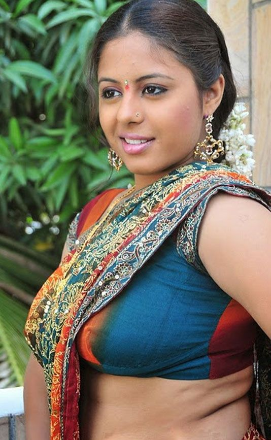 blouse cleavage actress Indian