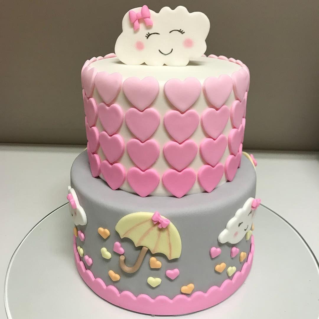 Chuva De Amor Majuformiga Cake Festachuvadeamor Bololindo
