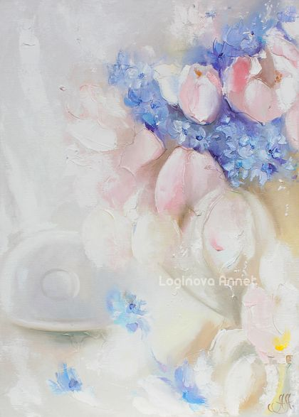 Delicate charming aroma ... you to the world of dreams. Flowers! https://www.etsy.com/ru/shop/AnnetPainting?ref=search_shop_redirect  http://www.livemaster.ru/l-annet Annet Loginova