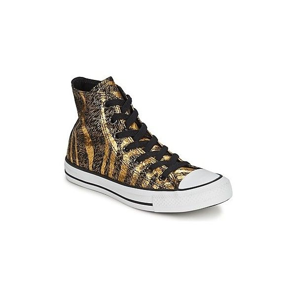 Converse CHUCK TAYLOR ANIMAL PRINT Shoes (High-top Trainers) ($91) ❤ liked on Polyvore