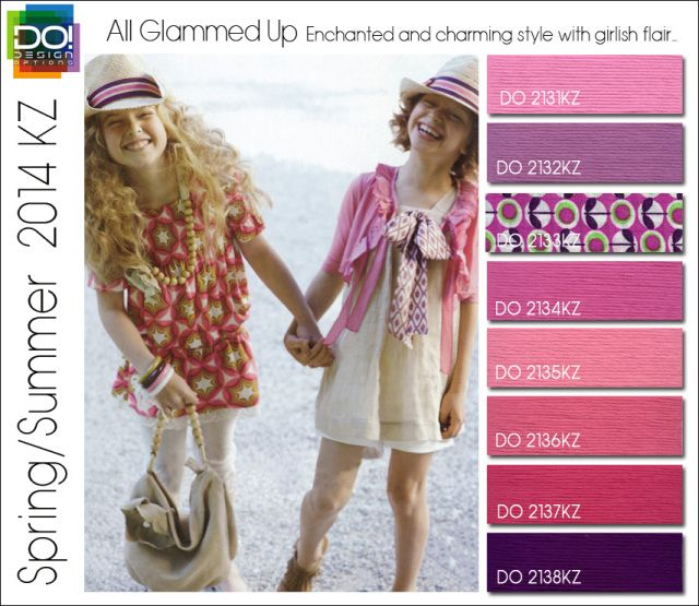 kids spring 2014 color forecast