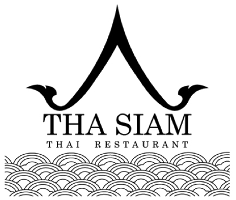 Tha Siam thai logo Pinterest Restaurant logos, Asian