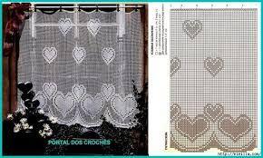 Resultado de imagen para cortina crochet patron