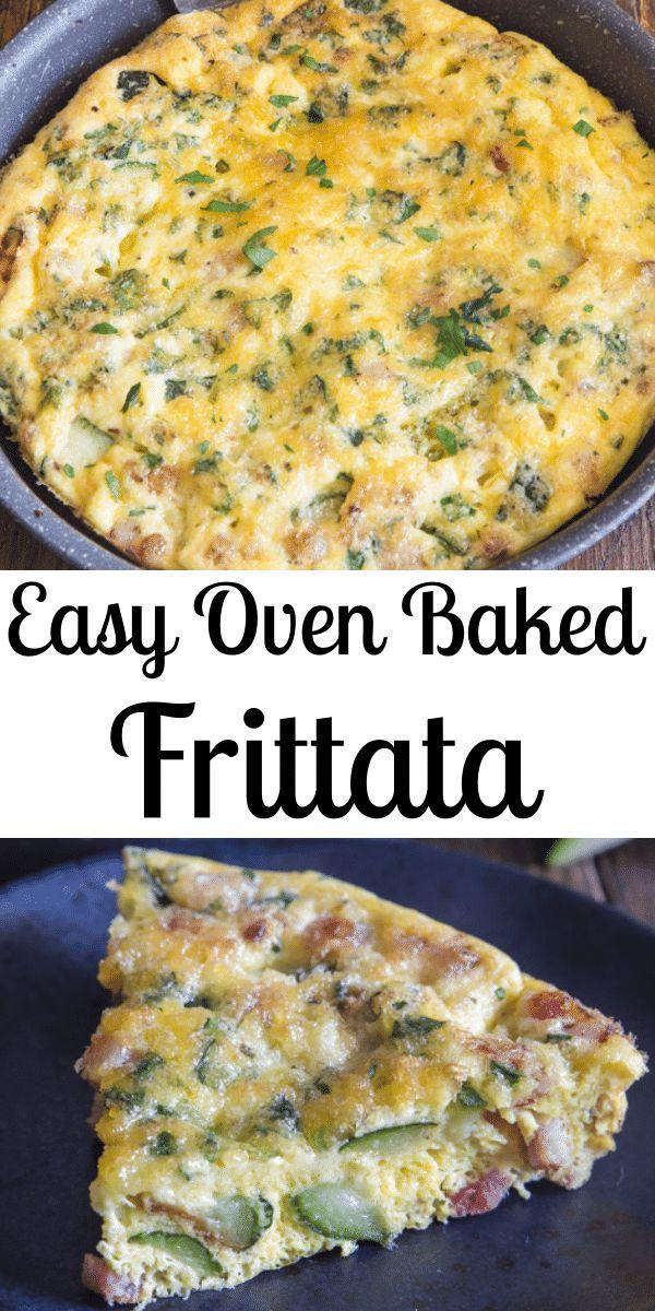 Easy Oven Baked Frittata Recipe - An Italian in my Kitchen