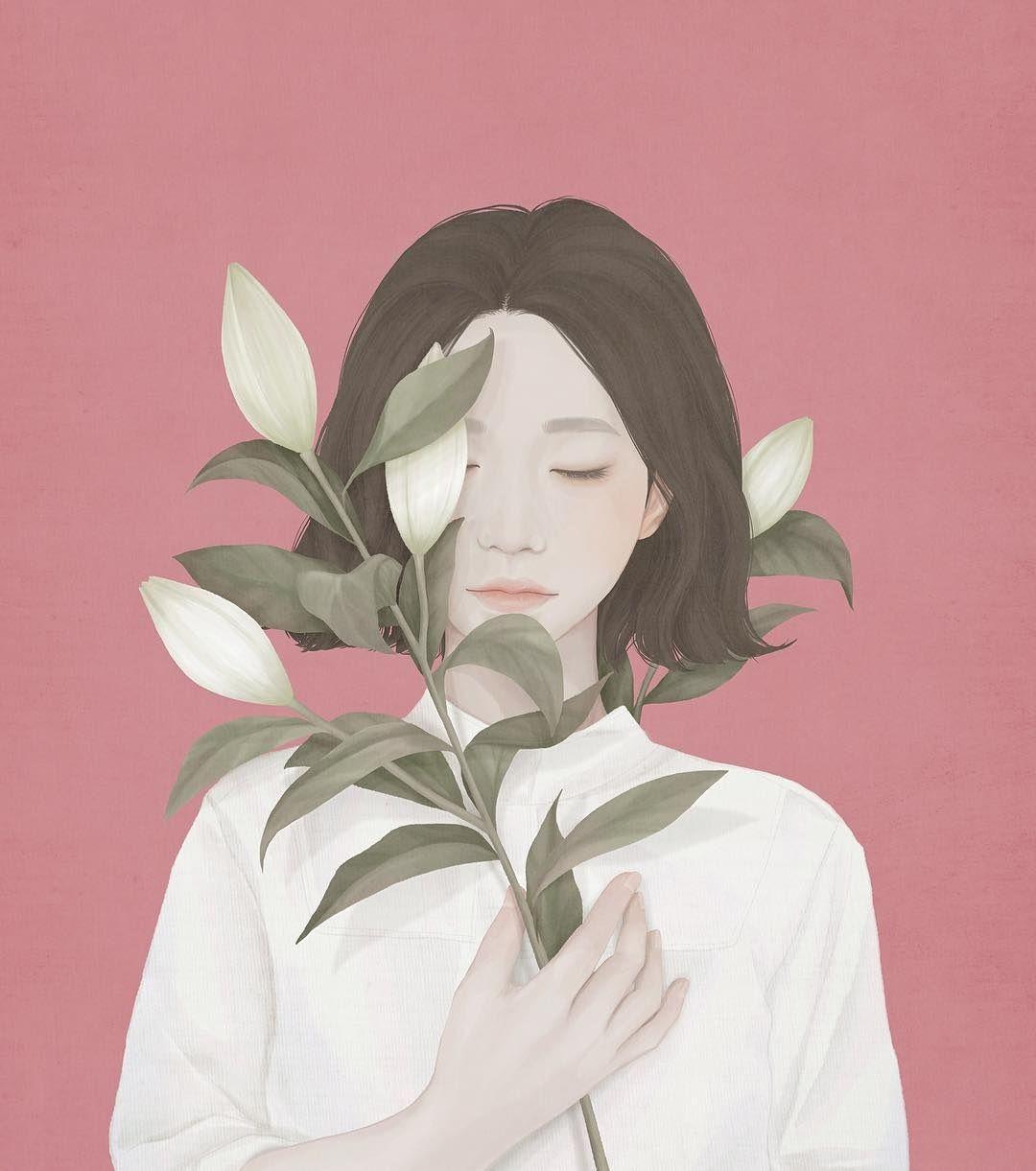 Ensee's Delicate Digital Paintings