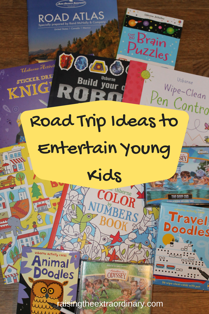 road trip ideas to entertain young kids | tips for moms | road trip