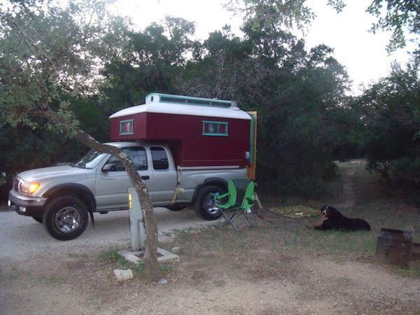 Custom Built Truck Bed Micro Camper that Fits Toyota Tacoma