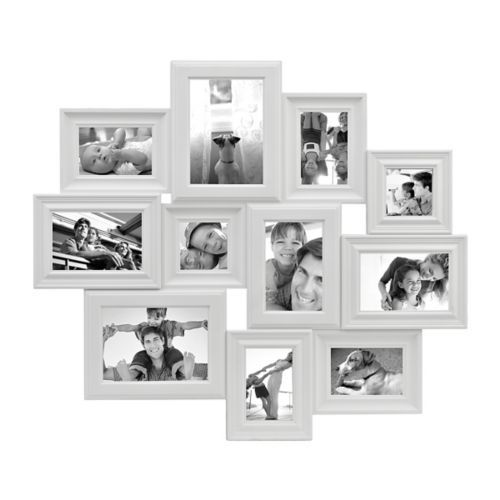 White 11 Opening Collage Frame Collage Frames White Picture