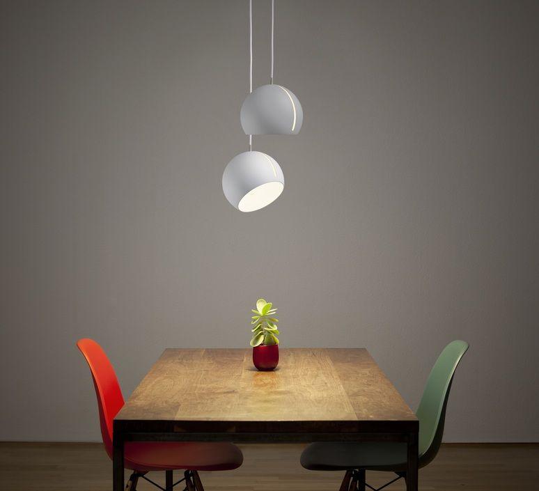 suspension tilt globe fil blanc blanc 20cm nyta suspension design suspension et. Black Bedroom Furniture Sets. Home Design Ideas