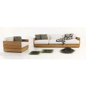 Soho Grande Teak Outdoor Furniture Collection
