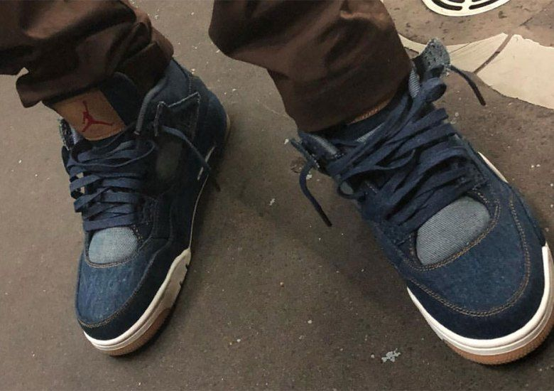 9a04c0203c5419 Levis Air Jordan 4 First Look  thatdope  sneakers  luxury  dope  fashion   trending