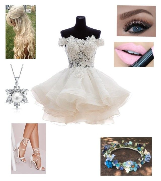 """Fairy outfit"" by street-124-angel ❤ liked on Polyvore featuring Mode, Missguided, Bling Jewelry, Fiebiger, women's clothing, women, female, woman, misses und juniors"