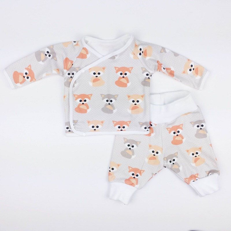 Organic Baby Fox Going Home Outfit, Cute Baby Outfit, Organic Baby ...
