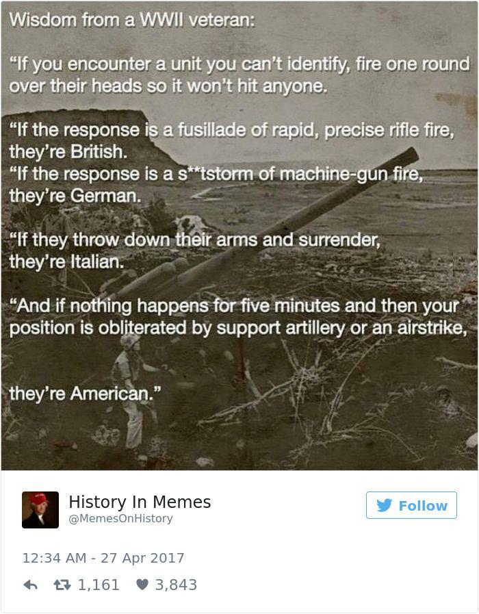 Funny History Memes History Jokes Military Humor History Memes