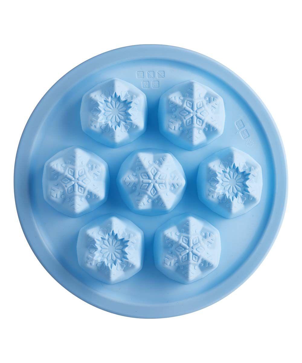 Mold Tovolo Snowflake Silicone Ice Cube Tray