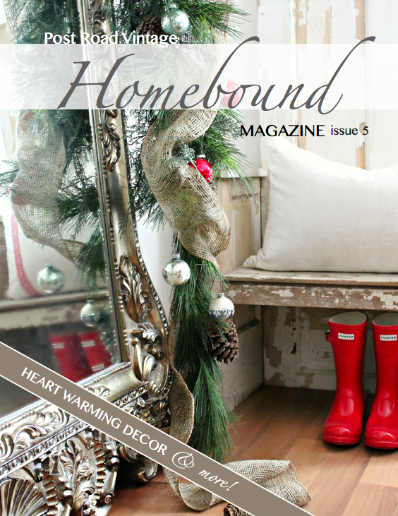 Winter Homebound 2012! Thank-you, Heather, for selecting one of my photos for the cover!