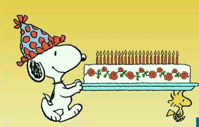 Snoopys having a big Birthday Party Happy Birthday QuotesPics