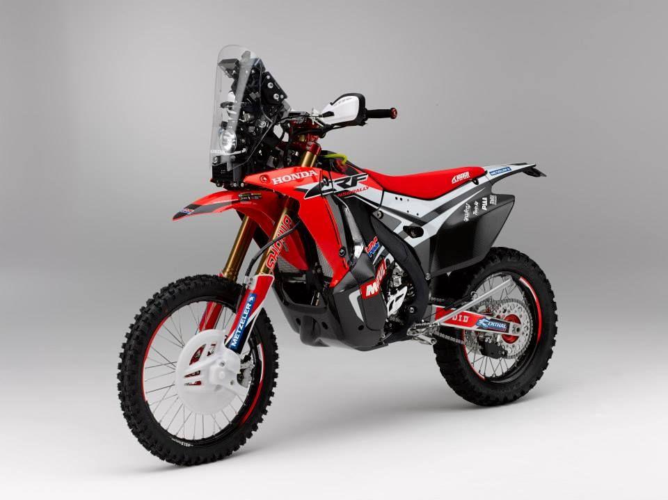 Honda Crf 450cc 2014 Dakar Bike Enduro Motorcycle Honda Bikes Honda