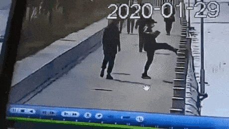One Kick Man Whatcouldgowrong Movie Humor Funny Gif Best Funny Pictures
