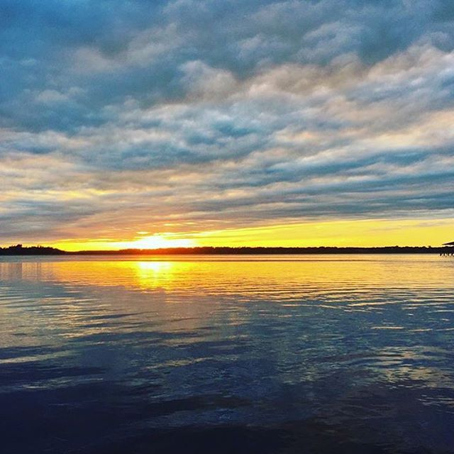Visit Savannah On Instagram A Beautiful Sunset Over The Wilmington River Visitsavannah Chelseacscott