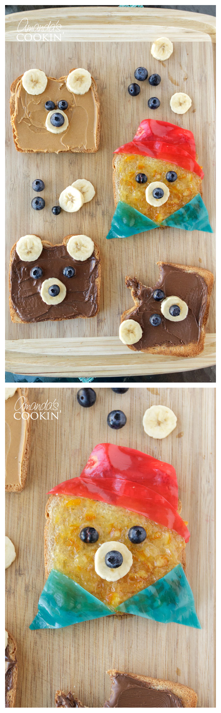 These cute teddy bear toasts by @AmandaFarMaro will surely put a smile on the whole family's face. | Paddington 2 - in theaters now
