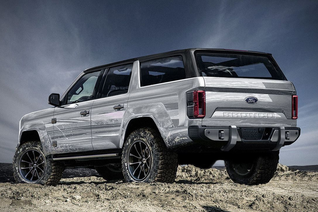 2020 Ford Bronco 4 Door Concept Hiconsumption Ford Bronco Concept Ford Bronco 2019 Ford Bronco
