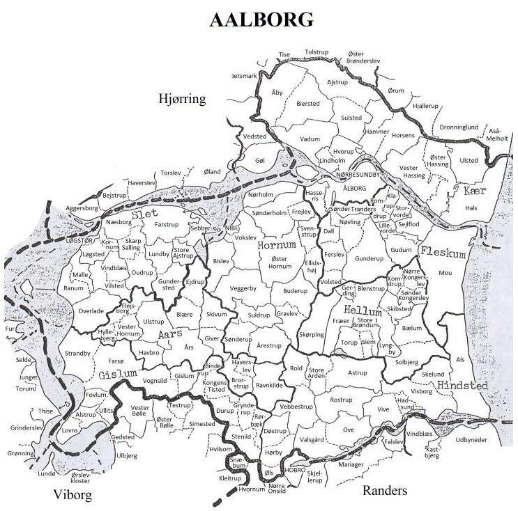 Maps Nibe Hornum Aalborg Denmark Aalborg County Denmark