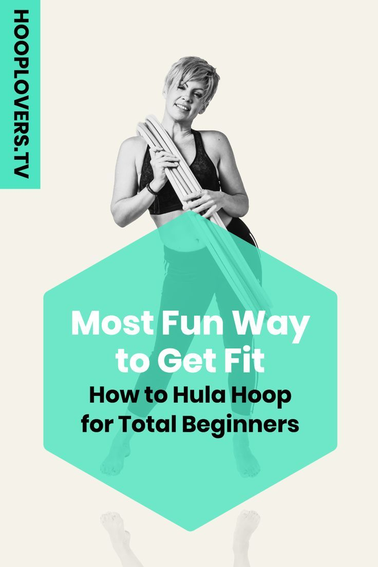 Want to feel good, look fabulous and have a ton of fun? Of course you do. Grab an adult size hoop th...