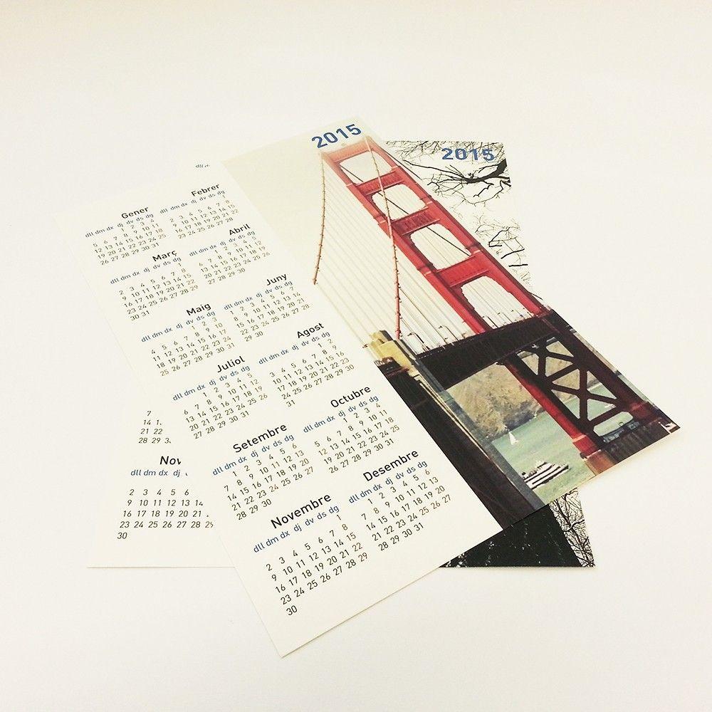 Calendarios de pared tipo póster personalizados A4-Bramona Impressió Digital, algo más que una copistería en el centro de Barcelona