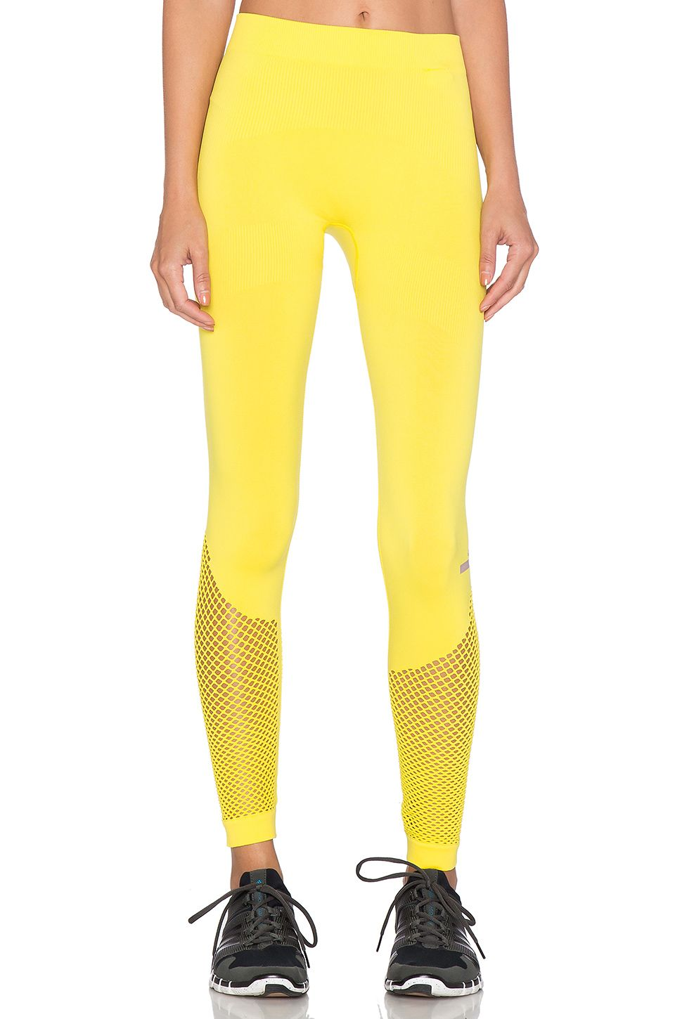 In love with these! adidas by Stella McCartney Essentials Studio Tight in Lux Yellow