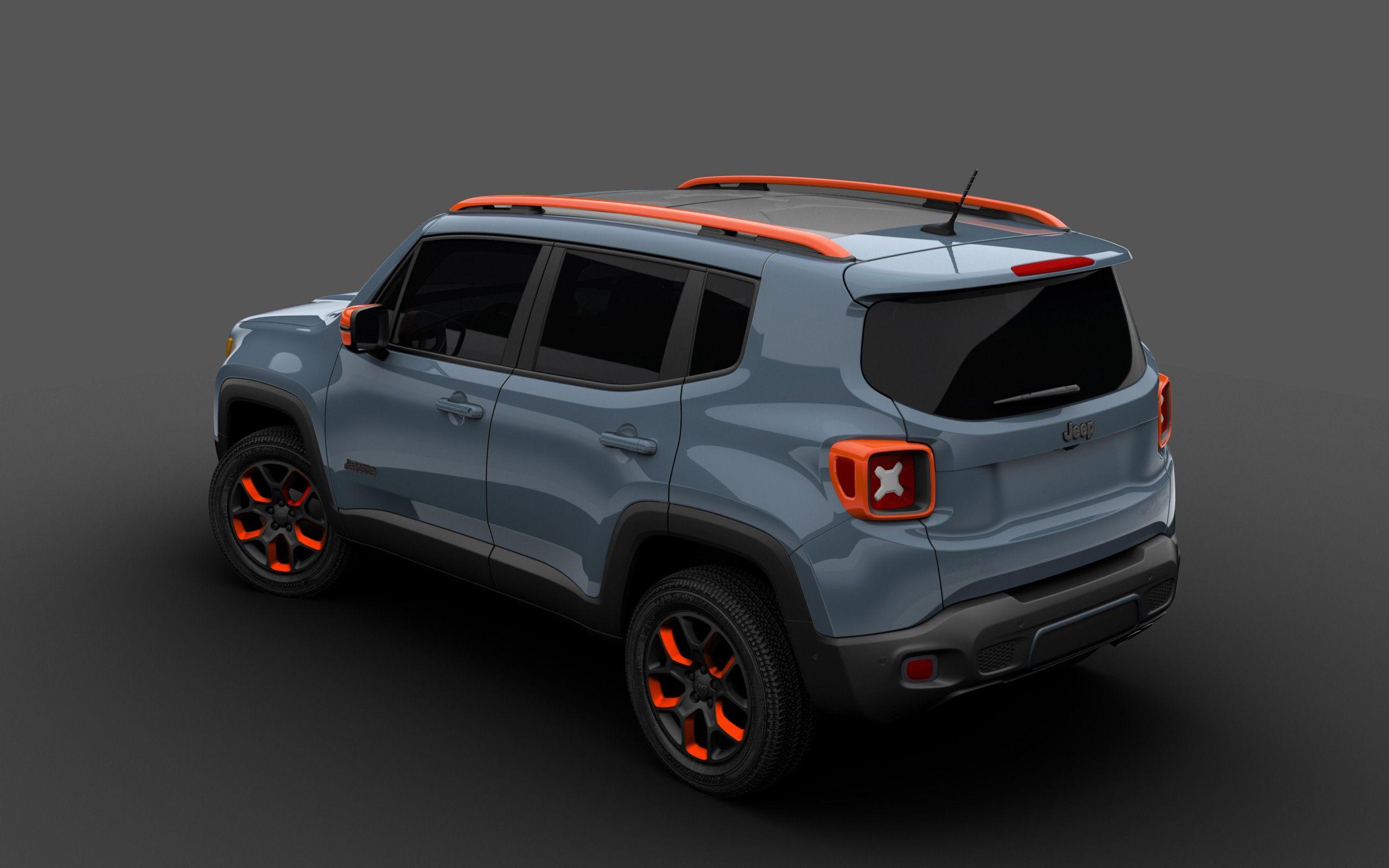 2015 Jeep Renegade Receives Mopar Goodies for 2015 Detroit Auto