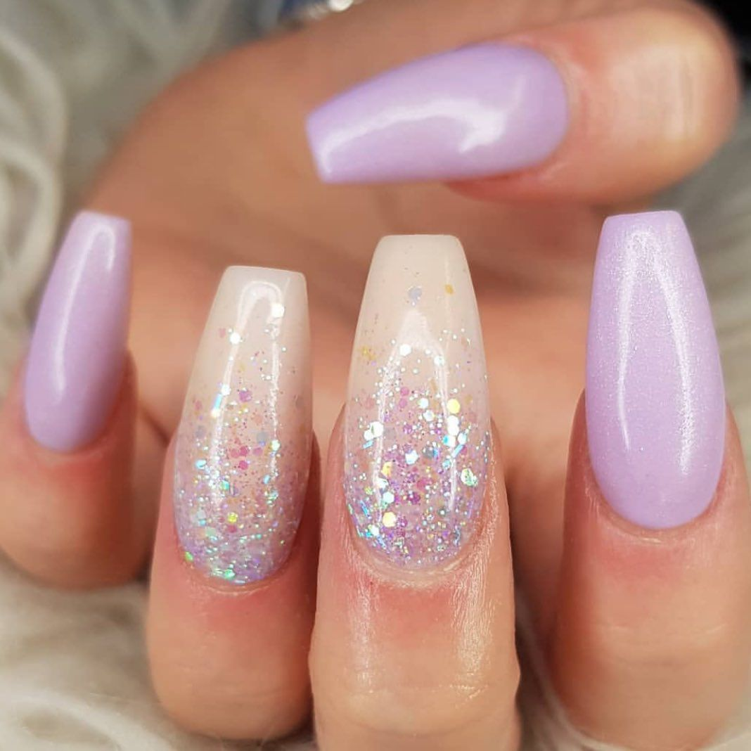 Installation Of Acrylic Or Gel Nails In 2020 Clear Acrylic Nails Swag Nails Diamond Nails