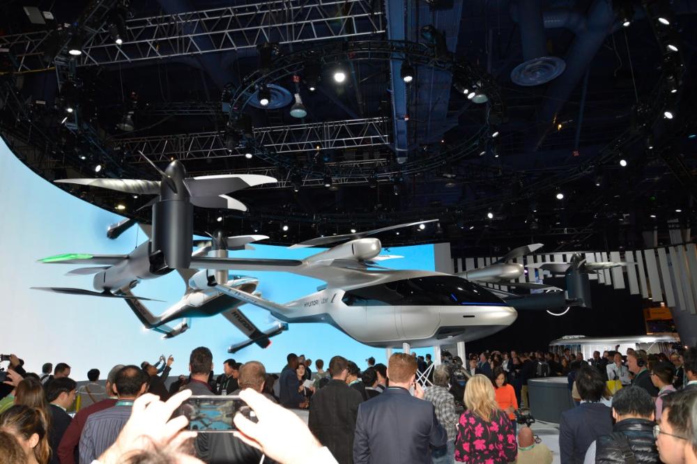 Hyundai unveils new Uber air taxi design in 2020