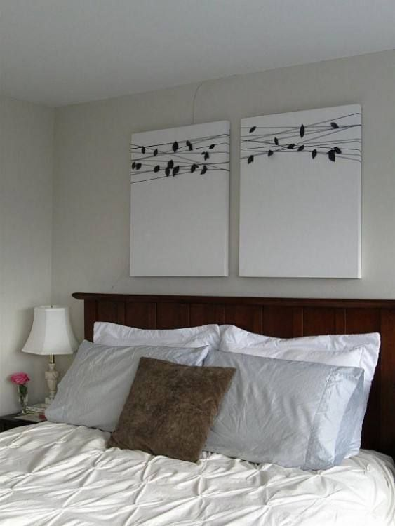 Decorate A Bed without Headboard