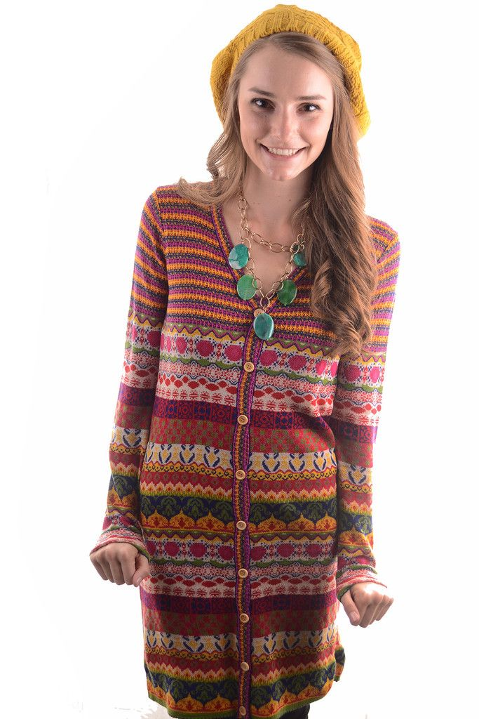 BUTTON UP FOR A BRIGHT DAY SWEATER DRESS – GG Boutique
