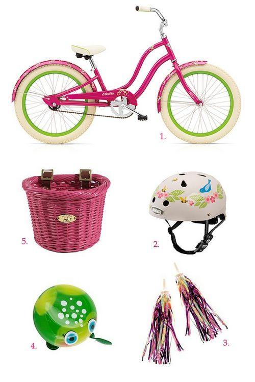 e33b70a126d Girly bike accessories for kids | Bikes | Kids bike, Bike ...
