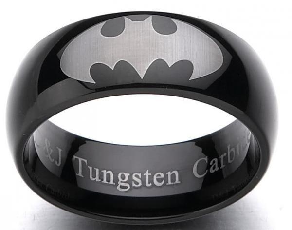 Batman Tungsten Ring!